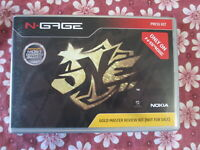 N-Gage ONE Gold Master Review Press Kit / Media CD!