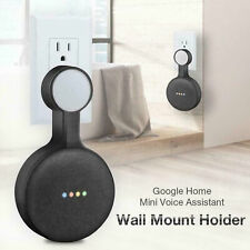 Outlet Wall Mount Stand Hanger Holder for Google Home Mini Voice Assistant Hot