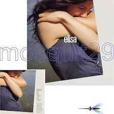 ELISA RARO CD PROMO OMONIMO FULL ALBUM MADE IN UK 2002