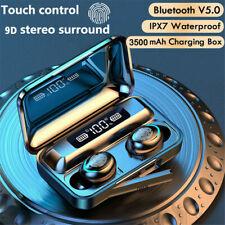 TWS Kopfhörer Bluetooth 5.0 In-Ear Ohrhörer Headset LED mitLadebox Touch Control