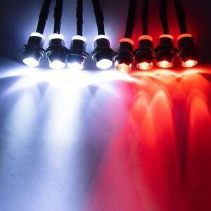 LED Light Kit Truck Lights Headlights Taillight Switch Kit RC Car 1/10 SCX10 NEW