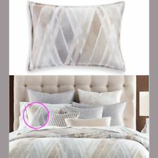 Hotel Collection Laterale 100% Pima Cotone Due (2) Standard Federe Cuscini Nwt