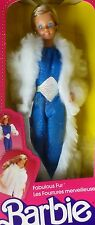 "BARBIE ""Fabulous Fur"" bellissimo pelliccia # 7093 VINTAGE 1983 NRFB"