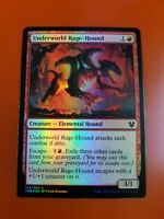 1x Underworld Rage-Hound | FOIL | Theros Beyond Death | MTG Magic Cards