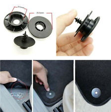 10Pcs Black Plastic Fixing Retainers Clips Fasteners  for Car Carpet Floor Mat