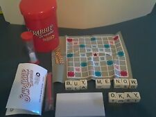 Travel Scrabble Scramble To Go! Game Parker Brothers Fun on the Run Complete EUC