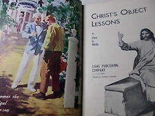 CHRIST'S OBJECT LESSONS White Stunning Vintage Colour Plates 1950s 💥SAVE 30% 2+