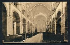 C1930's View of the Interior, Ribe Cathedral, Denmark.