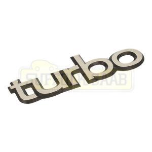 SAAB CLASSIC 900 TURBO 85-93MY BONNET BOOT TRUNK BADGE EMBLEM REPRODUCTION
