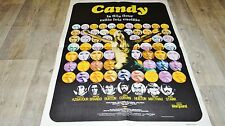 CANDY  ! ringo starr aznavour  affiche cinema vintage  1968