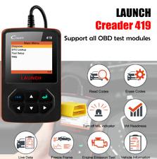 LAUNCH X431 Creader 419 Full OBD2 OBDII Code Reader Scan tools CR419 OBDII Tool