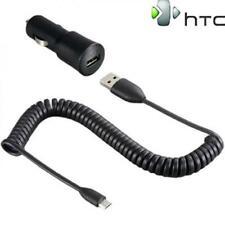 HTC CARICABATTERIE ALIMENTATORE ORIGINALE AUTO CAVO MICROUSB CC C200