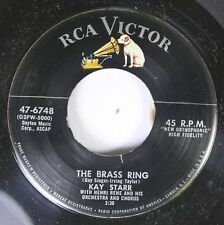50'S & 60'S 45 Kay Starr - The Brass Ring / Touch And Go On Rca Victor