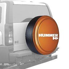 """33"""" Hummer H3 Logo - Rigid Tire Cover - Painted - Desert Orange"""