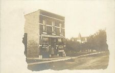 RPPC Postcard Bakery Ice Cream Tobacco and Confectionary Shop Store front
