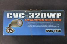 B&W Waterproof Bullet Camera CVC-320WP-ProVideo by CSI/Speco In Box Complete