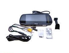 """7"""" Inch LCD Monitor With Universal Vehicle Stalk Windscreen For Reverse Cameras"""