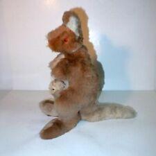 Plüschtier Känguru Kangaroo plush animal paramount fur toys