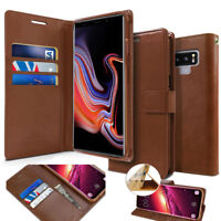 Goospery Slim Leather Wallet BookFlip Case Cover for iPhone 12/Galaxy S20/Note20
