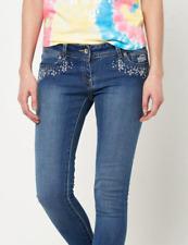 Ladies Superdry Super Skinny Embellished Jeans Size 27W 30L Surf Springs BNWT