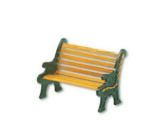 Dept 56 Village ~ Wrought Iron Park Bench ~ Mint In Box 52302