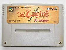 Genuine Der Langrisser for Nintendo Super Famicom JAPANESE TESTED