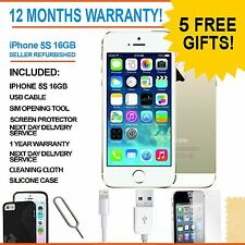 Apple iPhone 5s - 16 GB - Champagne Gold (Unlocked) - Grade A Bundle