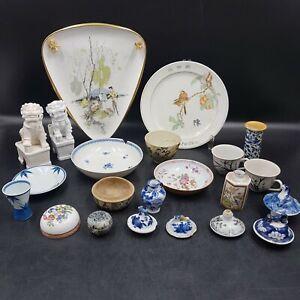 Konvolut asiatische Antik Porzellan  Hausauflösung sieh bitte genaue im Bilder