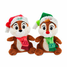 Disney Chip 'n Dale Nordic Winter Plush Set of 2! NWT! Great for Holidays!!