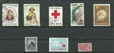 Colombia Different stamps