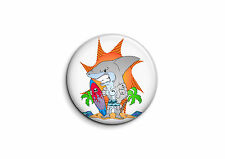 Surf - Requin 1 - Badge 25mm Button Pin