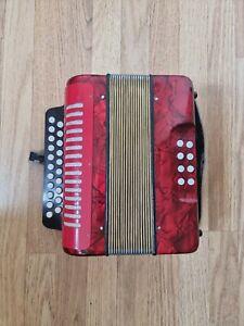 Melodeon / Diatonic Button Accordion -B/C key -  Irish Style