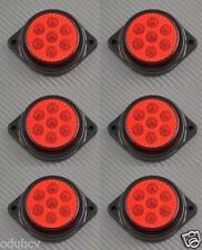 6 x 7 LED 12V LATO post. INDICATORE ROSSO LUCI AUTO SUV Camper 4X4 PICK-UP