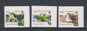 Cayman Island - 2007, Birds, 2nd series set - Self Adhesive - SG 1124/6