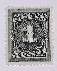 Travelstamps: US Revenue Telegraph stamp scott 1t1, 1c American Rapid Tele.Co.
