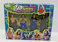 WWF Go Mental Box Set Jakks Wwe HHH Dude Love Stone Cold Undertaker Action Figur