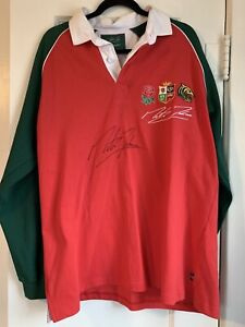 Signed Martin Johnson Testimonial Jersey