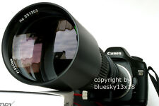 Súper tele 500 1000mm F. Canon EOS 1300d 1200d 760d 700d 750d 550d 1000d 1100d