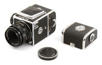 CLA'd Hasselbladski Kiev-88 6x6 Medium Format Film Camera w/ Lens & 2 Backs!