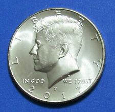 2017-P 50C Kennedy Half Dollar - Uncirculated from Mint Roll