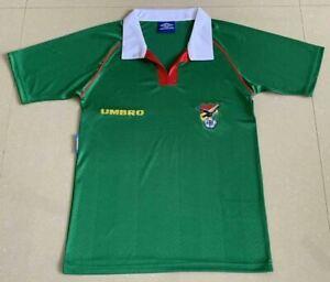 1994 Bolivia Home Retro Soccer Jersey