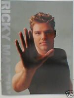 RICKY MARTIN world tour 1999/2000 tour programme 24 pages