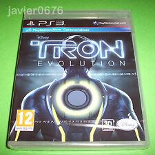 TRON EVOLUTION NUEVO Y PRECINTADO PAL ESPAÑA PLAYSTATION 3