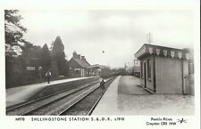 Railway Postcard - Shllingstone Station S.& D.R. c1910   2740