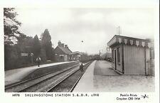 Railway Postcard - Shllingstone Station S.& D.R. c1910   2740