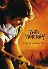 PETE MURRAY A Year In The Sun DVD BRAND NEW *PAL* Region All