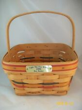 Longaberger 1996 Bee Basket Light the Fire Within