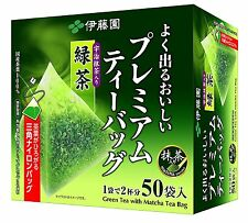 Itoen Uji Matcha Ocha Japanese Green Tea Bag 50 bags Made in JAPAN