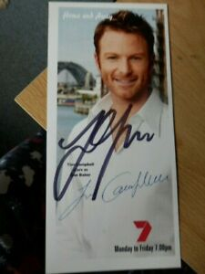 TIM  CAMPBELL   -  HOME AND AWAY  -  TV  ACTOR  -  AUTOGRAPHED  PHOTO