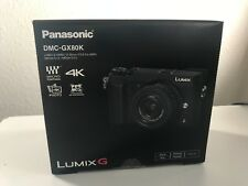 Panasonic Lumix DMC-GX80K 16MP 4K Camera  + 12-32mm Lens Kit  Black
